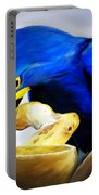 Blue Macaw Portable Battery Charger