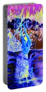 Blue Maqical Sensualism Portable Battery Charger