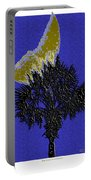 Blue Moon Over Palmetto  Portable Battery Charger