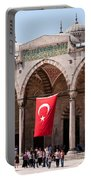 Blue Mosque Courtyard Portico Portable Battery Charger