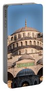 Blue Mosque Domes 01 Portable Battery Charger