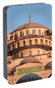 Blue Mosque Domes 02 Portable Battery Charger