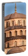 Blue Mosque Domes 03 Portable Battery Charger