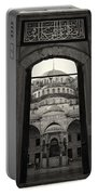 Blue Mosque Entrance Portable Battery Charger