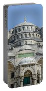 Blue Mosque In Istanbul Turkey Portable Battery Charger