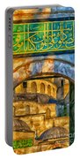 Blue Mosque Painting Portable Battery Charger