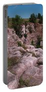 Blue Mounds Quarry Portable Battery Charger by James Peterson