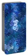 Blue - Natural Abstract Series Portable Battery Charger