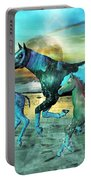 Blue Ocean Horses Portable Battery Charger