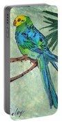 Blue Parakeet Portable Battery Charger