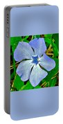 Blue Periwinkle In Rocca Al Mare Open Air Museum-estonia Portable Battery Charger