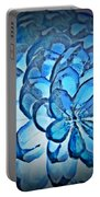 Blue Pine Cone 2 Portable Battery Charger