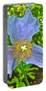 Blue Poppy In Les Jardins De Metis Or Reford Gardens Near Grand-metis-quebec Portable Battery Charger