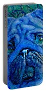 Blue Pug Portable Battery Charger