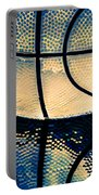 Blue Basketball Portable Battery Charger