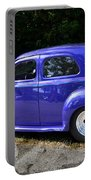 Blue Restored Willy Car Portable Battery Charger