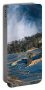Blue Rice Terrace Portable Battery Charger