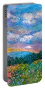 Blue Ridge Wildflowers Portable Battery Charger