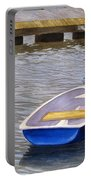 Blue Row Boat Portable Battery Charger