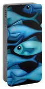 Blue School 2 Portable Battery Charger