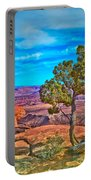 Blue Skies And Canyons Portable Battery Charger