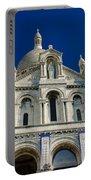 Blue Sky Over Sacre Coeur Basilica Portable Battery Charger