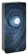 Blue Spiral Staircaise Portable Battery Charger