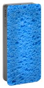 Blue Sponge Texture Portable Battery Charger