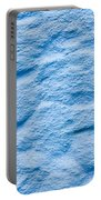 Blue Stone Background Portable Battery Charger