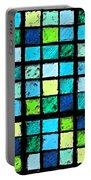 Blue Sudoku Portable Battery Charger