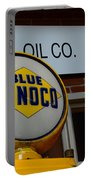 Blue Sunoco Globe Portable Battery Charger