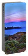 Blue Sunset Portable Battery Charger by Frozen in Time Fine Art Photography