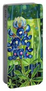Blue Tapestry Portable Battery Charger