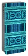 Blue Teal Dreams Portable Battery Charger
