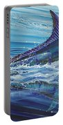 Blue Tranquility Off0051 Portable Battery Charger by Carey Chen