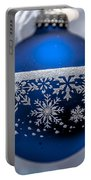Blue Tree Ornament Portable Battery Charger