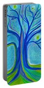 Blue Tree Sky By Jrr Portable Battery Charger