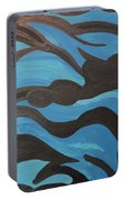 Blue Waves Of Healing Portable Battery Charger