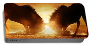 Blue Wildebeest Dual In Dust Portable Battery Charger
