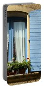 Blue Window And Shutters Portable Battery Charger