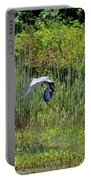 Blue Winged Heron 2013 Portable Battery Charger