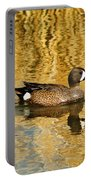 Blue Winged Teal 2 Portable Battery Charger