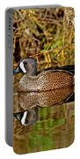 Blue-winged Teal Drake Portable Battery Charger