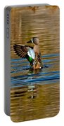 Blue-winged Teal Flapping Portable Battery Charger