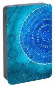 Blue World Original Painting Portable Battery Charger
