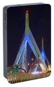 Blue Zakim Portable Battery Charger
