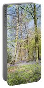 Bluebell Time In England Portable Battery Charger