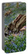 Bluebells At Bransdale Portable Battery Charger