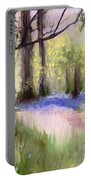 Bluebells At Dusk Portable Battery Charger