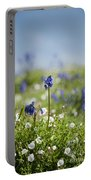 Bluebells In Sea Campion Portable Battery Charger